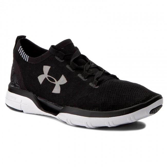 Shoes UNDER ARMOUR - Ua Charged Coolswitch Indoor Run 1285485-001 Blk/Wht/Wht - Indoor Coolswitch - Running shoes - Sports shoes - Women's shoes 33c7de
