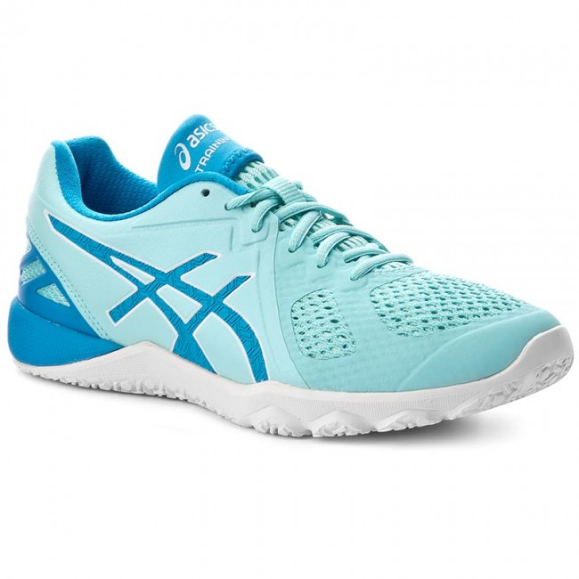 Shoes ASICS - Conviction X S753N Aqua Splash/Diva - Blue/White 6743 - Fitness - Splash/Diva Sports shoes - Women's shoes 8966f2