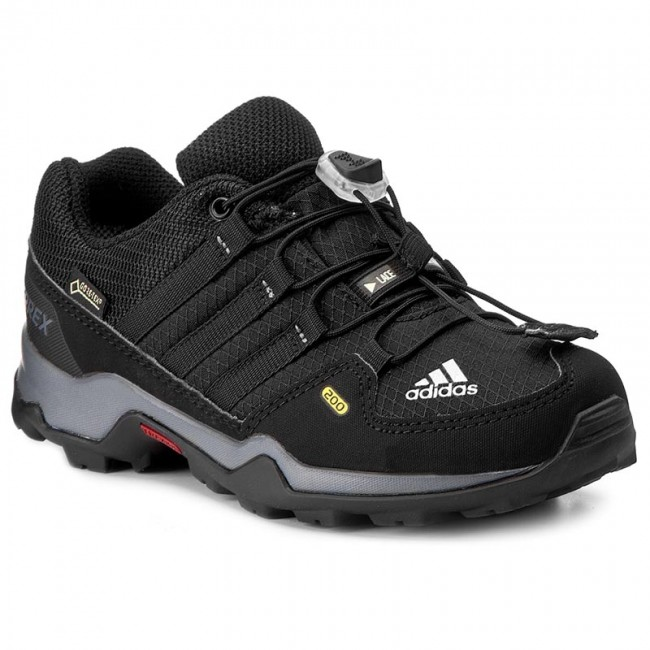 Shoes adidas - Terrex GTX K Trekker GORE-TEX BB1947 Cblack/Cblack/Visgre - Trekker K boots - Low shoes - Women's shoes 7800fc