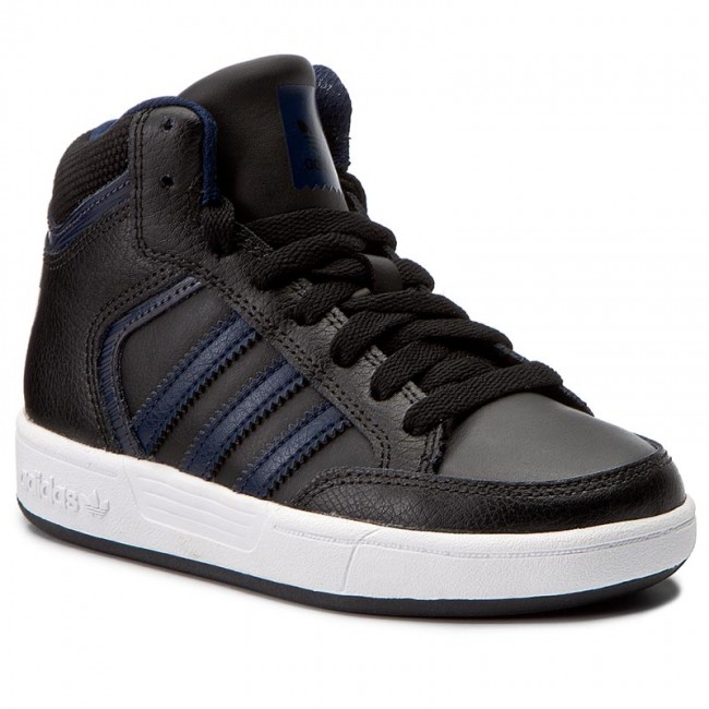 Shoes adidas - Varial - Mid J BY4085 Cblack/Conavy/Dgsogr - Varial Sneakers - Low shoes - Women's shoes 34d638