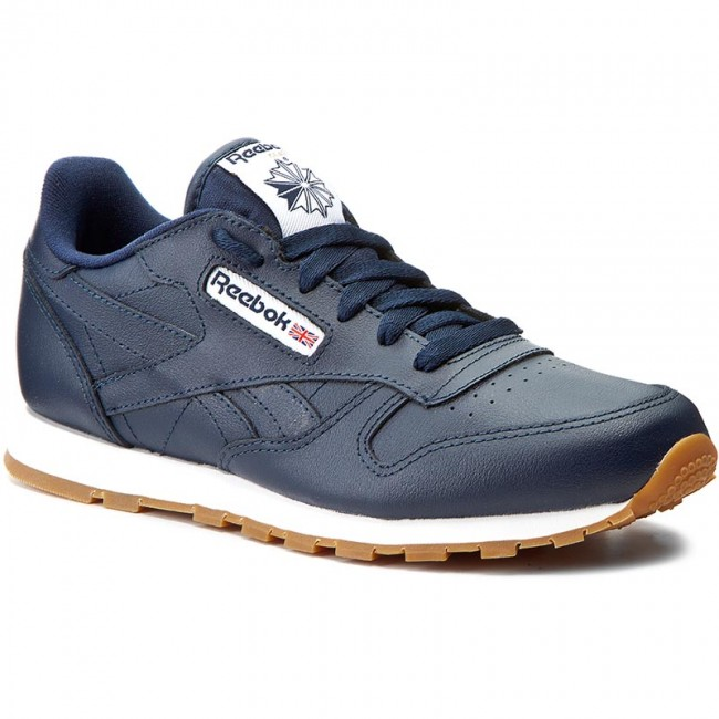 2f49c9cd378ae Shoes Shoes Shoes Reebok - Classic Leather Gum AR1312 Collegiate Navy Gum -  Sneakers - Low shoes - Women s shoes f301e5