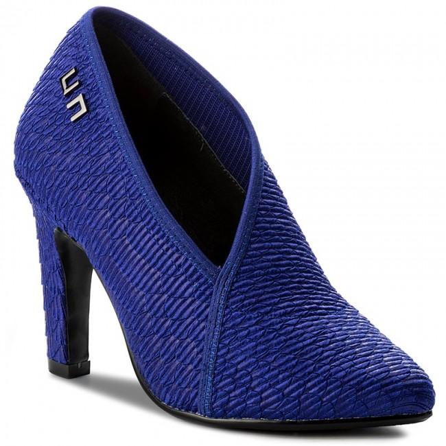 Shoes UNITED Hi NUDE - Fold Lite Hi UNITED 1009806111 Cobalt - Heels - Low shoes - Women's shoes ed2754