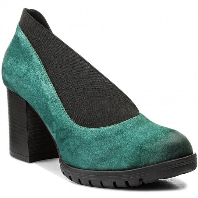 Shoes MACIEJKA shoes - 02743-09/00-1 Green - Heels - Low shoes MACIEJKA - Women's shoes 0414b8