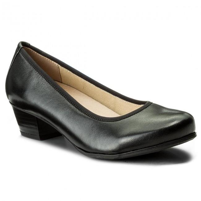 Shoes CAPRICE - 9-22300-20 Black Nappa 022 - Heels - shoes Low shoes - Women's shoes - 41eb6c