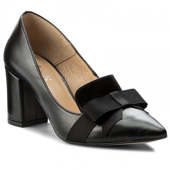 Shoes R.POLAŃSKI - - 0859 Czarny Lico - R.POLAŃSKI Heels - Low shoes - Women's shoes 331c65