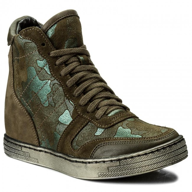 Sneakers ROBERTO shoes - 588 Green - Sneakers - Low shoes ROBERTO - Women's shoes bc6e27