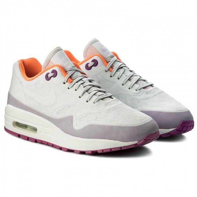 Shoes NIKE - Air Max 1 Ns 844982 101 101 101 Off White/Off White/Hypr Vlt - Sneakers - Low shoes - Women's shoes f4c1cb