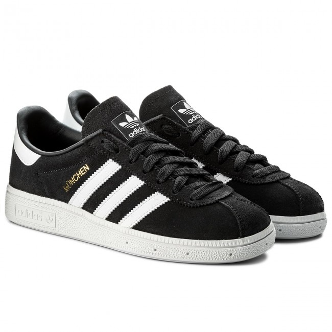 Shoes adidas - Sneakers Munchen CQ2322 Carbon/Ftwwht/Goldmt - Sneakers - - Low shoes - Women's shoes d0a039