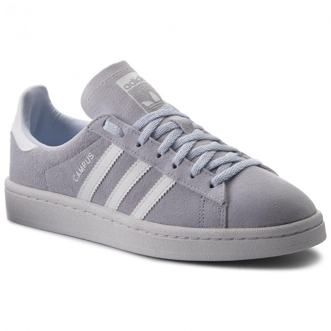 Shoes adidas - Campus W CQ2105 Aerblu/Ftwwht/Crywht - - Sneakers - Low shoes - - Women's shoes 5b9102