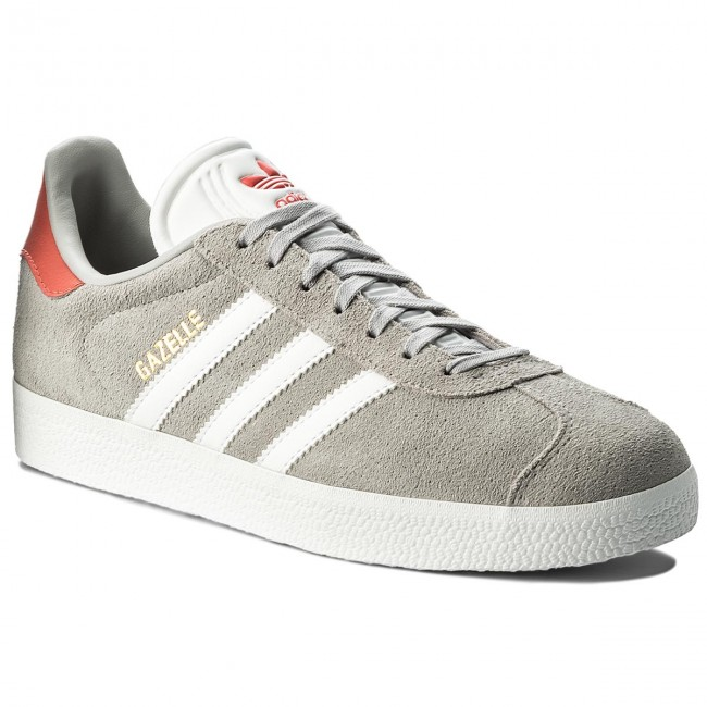 Shoes adidas - Gazelle CQ2805 Gretwo/Ftwwht/Trasca shoes - Sneakers - Low shoes Gretwo/Ftwwht/Trasca - Women's shoes 24ccb0