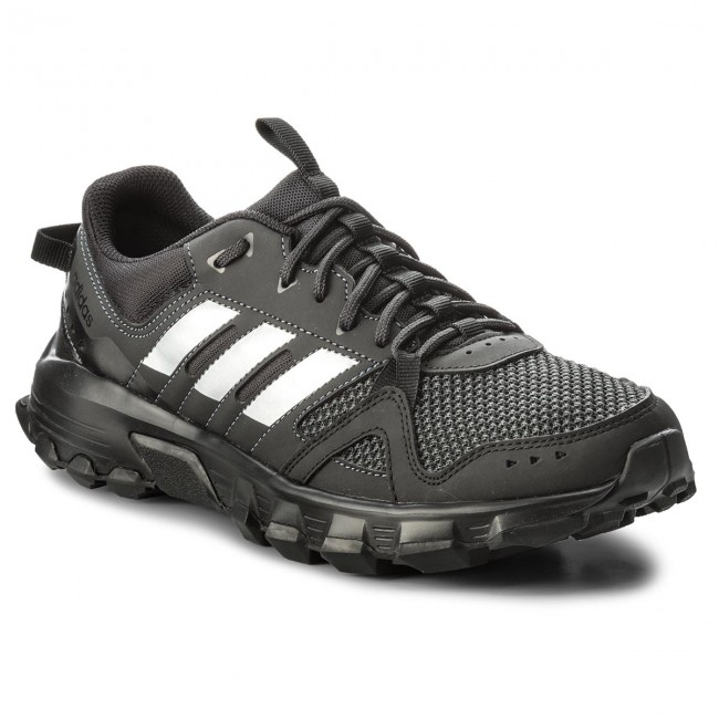 Shoes adidas adidas adidas - Rockadia Trail M CG3982 Cblack/Msilve/Carbon - Outdoor - Running shoes - Sports shoes - Men's shoes fa83d5