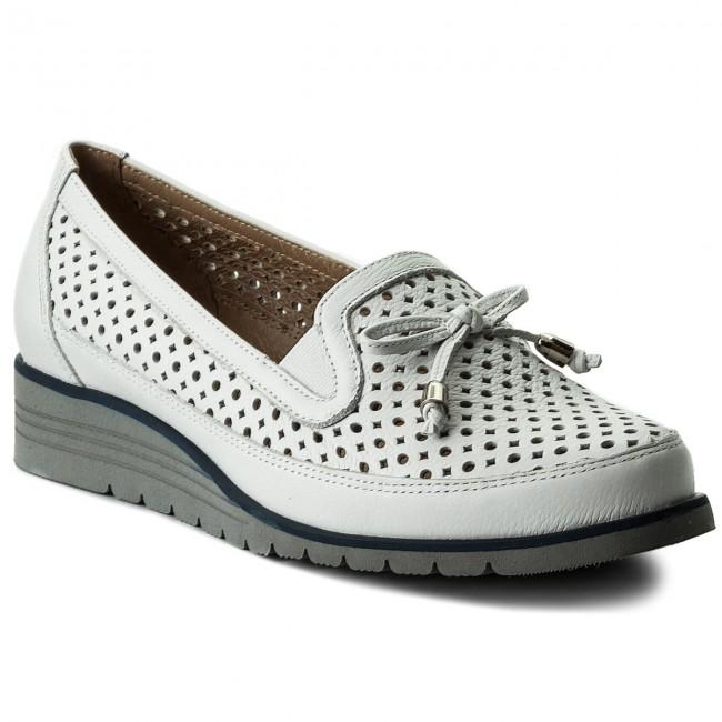 Shoes ANN MEX - 8691 00GDR White - Casual Women's - Low shoes - Women's Casual shoes cc7e8d