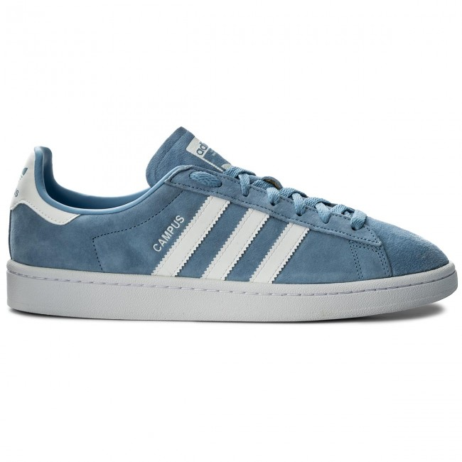 Shoes adidas - - - Campus DB0983 Ashblu/Ftwwht/Ftwwht - Sneakers - Low shoes - Men's shoes b44a6d