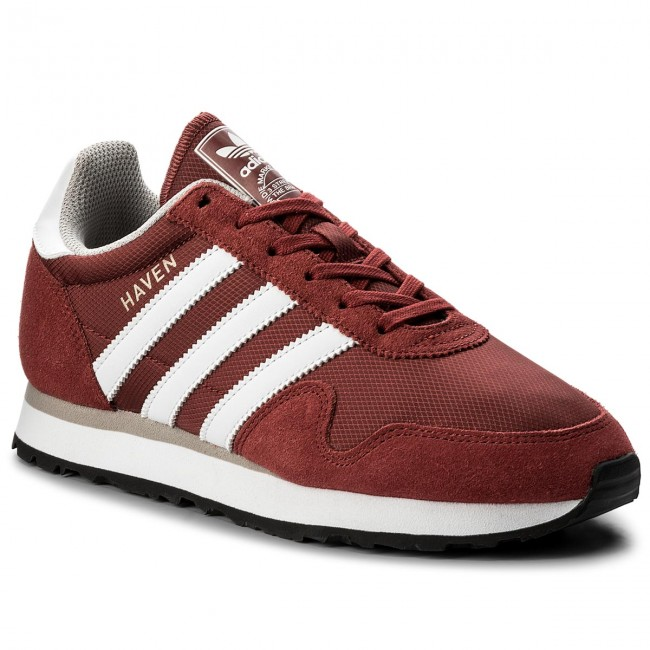 Shoes adidas - Haven - BB1281 Mysred/Ftwwht/Cgrani - Sneakers - Haven Low shoes - Women's shoes 412213