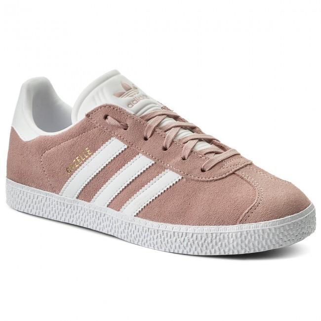 Shoes adidas - Gazelle J BY9544 Icepnk/Ftwwht/Goldmt - Sneakers - shoes Low shoes - Women's shoes - a8e3a1