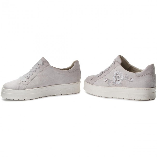 Sneakers CAPRICE - 9-23702-30 Lt Grey Suede 201 - Sneakers Sneakers Sneakers - Low shoes - Women's shoes f14512