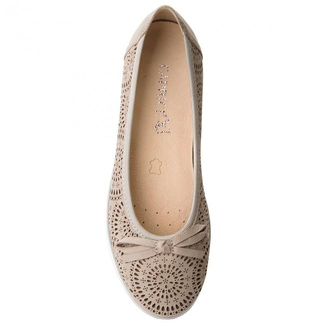 Shoes CAPRICE - 9-22120-20 Grey Nubuc 204 204 204 - Flats - Low shoes - Women's shoes 33d84c