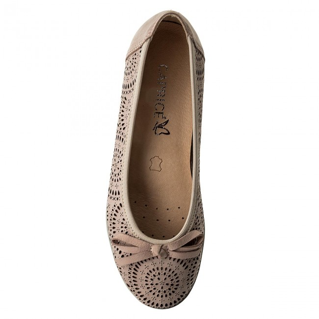Shoes CAPRICE CAPRICE CAPRICE - 9-22120-20 Rose Nubuc 509 - Flats - Low shoes - Women's shoes ad68f8