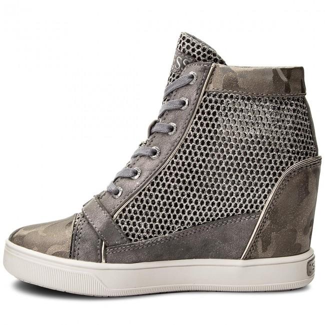 Sneakers GUESS - Fiore FLIOE1 FAM12 GREY GREY GREY - Sneakers - Low shoes - Women's shoes ebca27