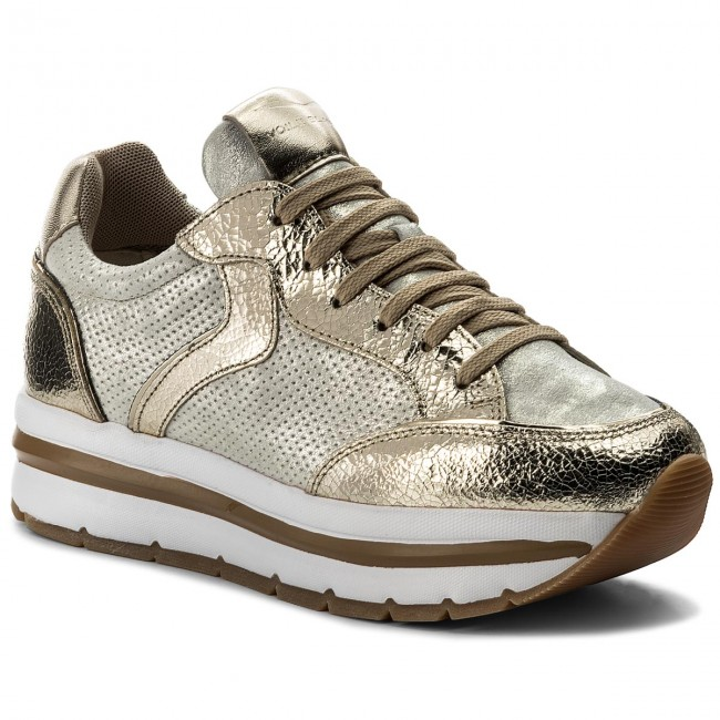 Sneakers VOILE 0012012388.07.9166 BLANCHE - Margot Star 0012012388.07.9166 VOILE Platino/Auorio - Sneakers - Low shoes - Women's shoes 2d3c20