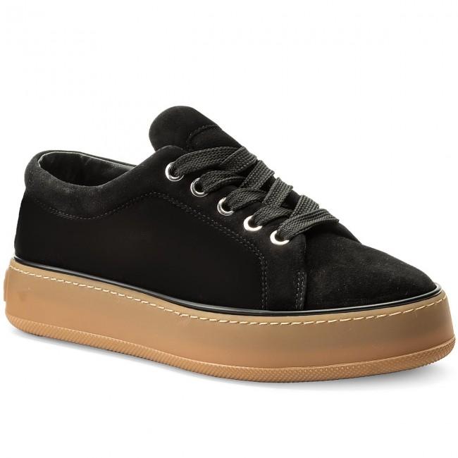 Sneakers MAXMARA - MM84 452115896 Nero Low 004 - Sneakers - Low Nero shoes - Women's shoes ffd64c