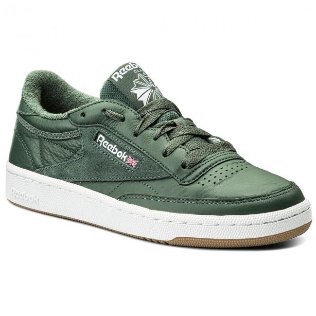 05154675eeb Shoes Reebok - Club C 85 Estl CM8793 CM8793 CM8793 Chalk Green White Wshblu  - Sneakers - Low shoes - Women s shoes 0f1934