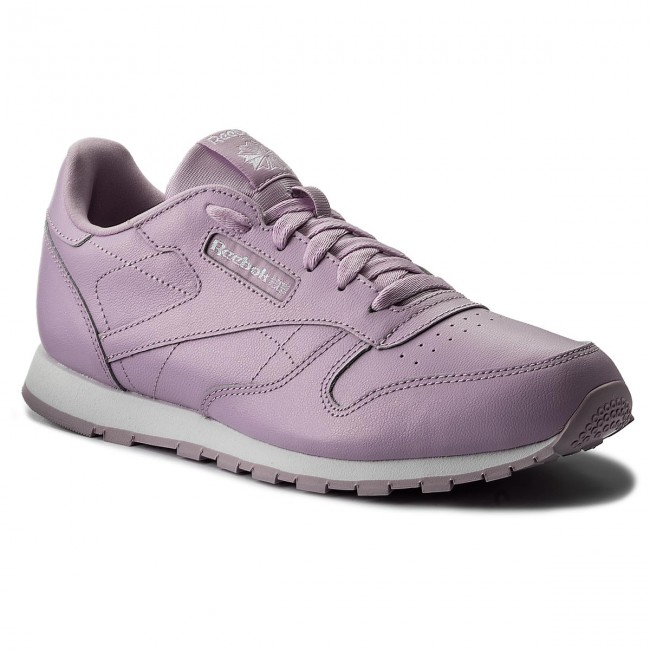 Shoes Reebok - Classic Leather Metallic CN0878 Moonglow/White - Sneakers Women's - Low shoes - Women's Sneakers shoes d27dd4