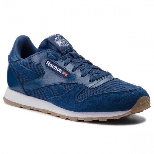Shoes Reebok - Cl Leather Estl CN1139 Washed Blue/White - - Sneakers - Low shoes - - Women's shoes fddc42