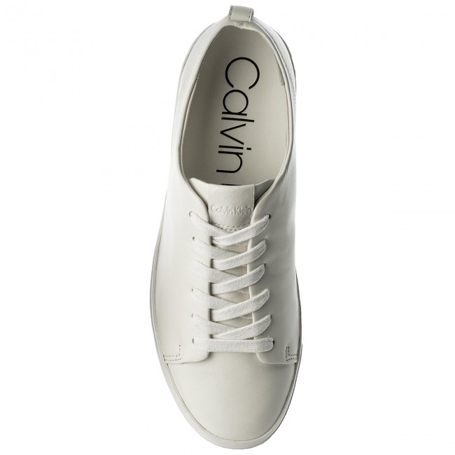 Sneakers Sneakers Sneakers CALVIN KLEIN - Janet Nappa E6539 Platinum White - Sneakers - Low shoes - Women's shoes c9b7ca