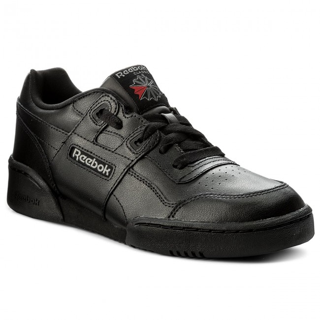 Shoes Reebok - Workout Plus CN1825 - Black/Charcoal/Primal Red - Sneakers - CN1825 Low shoes - Women's shoes e1fec0