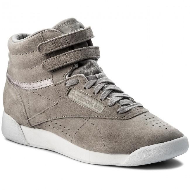 chaussures reebok - f s s s salut nbk cn0606 poudre gris blanc - tennis - bas chaussures chaussures - femmes 85486f