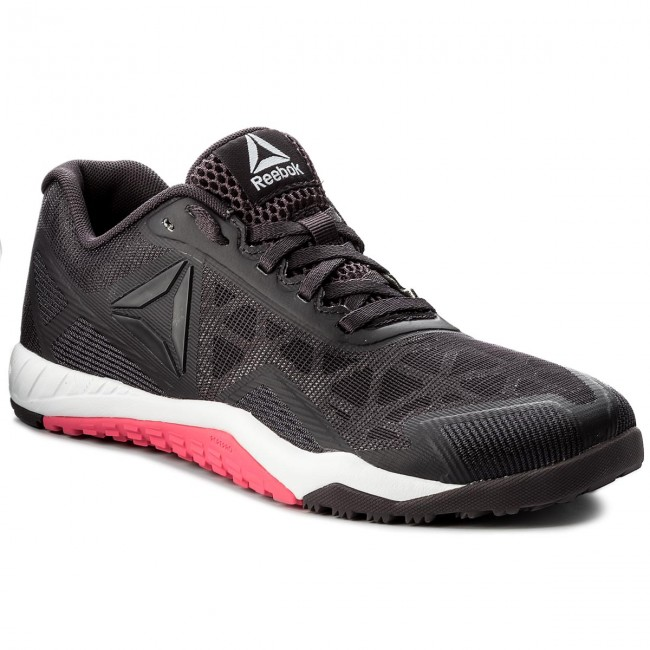 Shoes Reebok - Ros  Workout Tr 2.0 CN0972  Ros Smoky Volcano/White/Pink - Fitness - Sports shoes - Women's shoes 581a4b