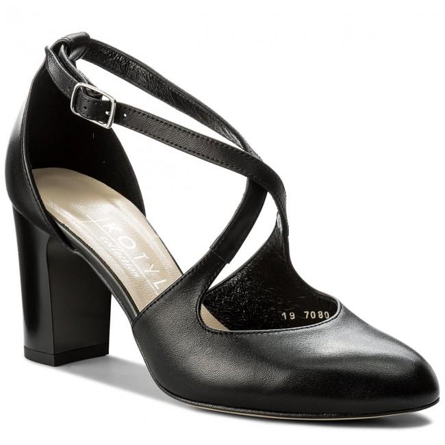 Shoes Low KOTYL - 7080 Czarny Lico - Heels - Low Shoes shoes - Women's shoes cd02e4