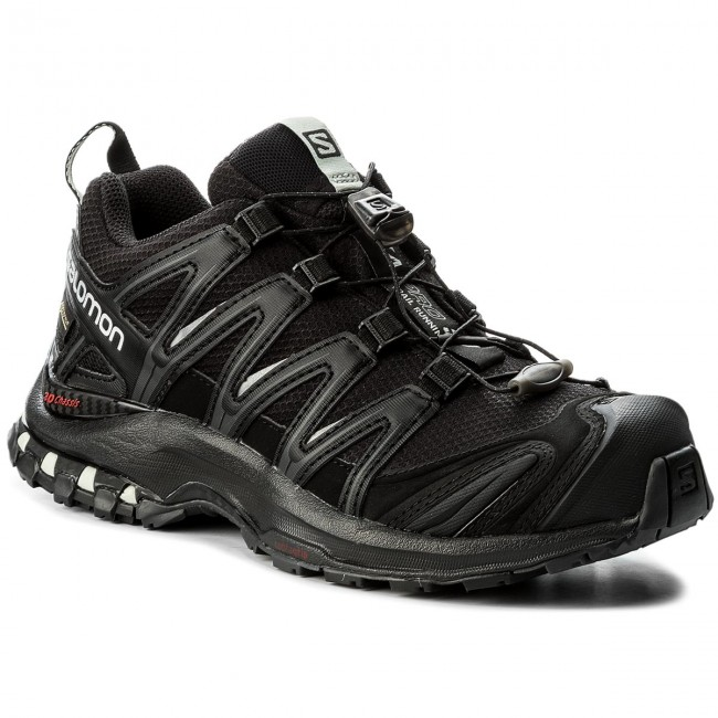 Shoes SALOMON - GORE-TEX Xa Pro 3D Gtx GORE-TEX - 393329 20 V0 Black/Black/Mineral Grey - Outdoor - Running shoes - Sports shoes - Women's shoes 07cb56