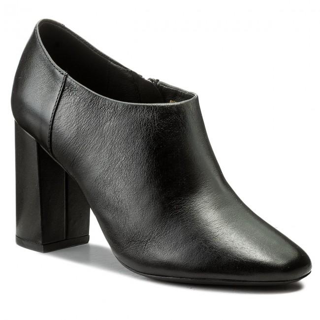 Shoes GEOX - D Audalies H. B D743XB 00085 C9999 Low Black - Heels - Low C9999 shoes - Women's shoes 4f4e86