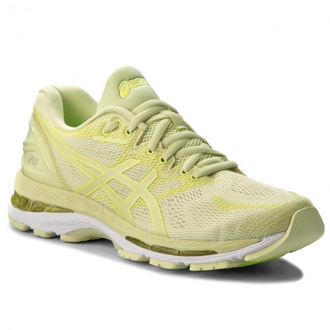 Shoes ASICS - Gel-Nimbus 20 T850N Limelight/Limelight/Safety Yellow Running 8585 - Outdoor - Running Yellow shoes - Sports shoes - Women's shoes d29894