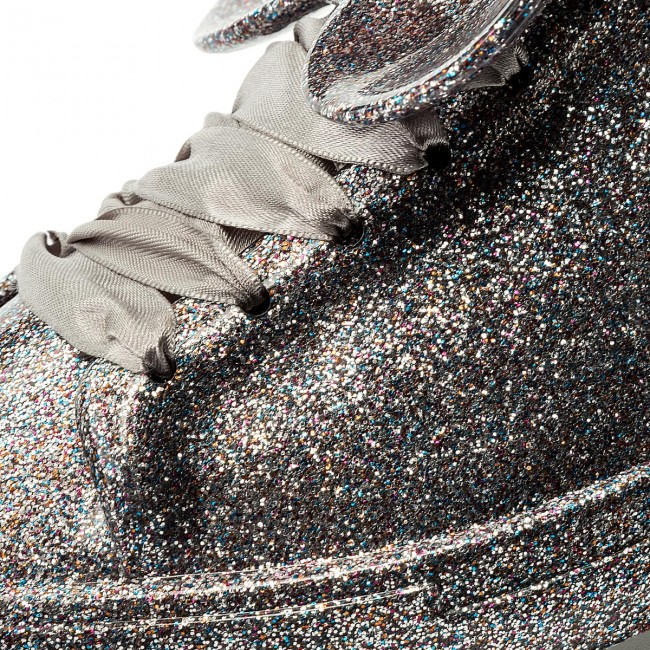 Shoes MELISSA - 32259 Be + Disney Ad 32259 - Silver Glitter 52986 - Flats - Low shoes - Women's shoes 4cb9fe