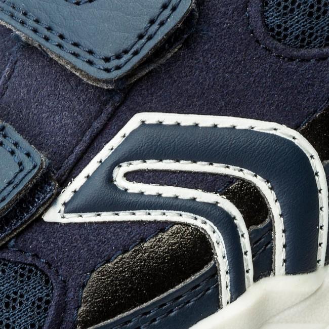 Shoes GEOX - J J J Bernie C J8211C 014AF C4002 S Navy  - Velcro - Low shoes - Boy - Kids' shoes 66281c