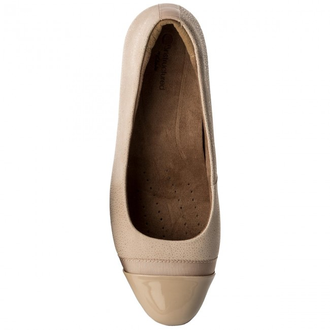 Shoes CLARKS - Keesha Rosa 261323584 Nude Interest - Flats Flats Flats - Low shoes - Women's shoes a72912