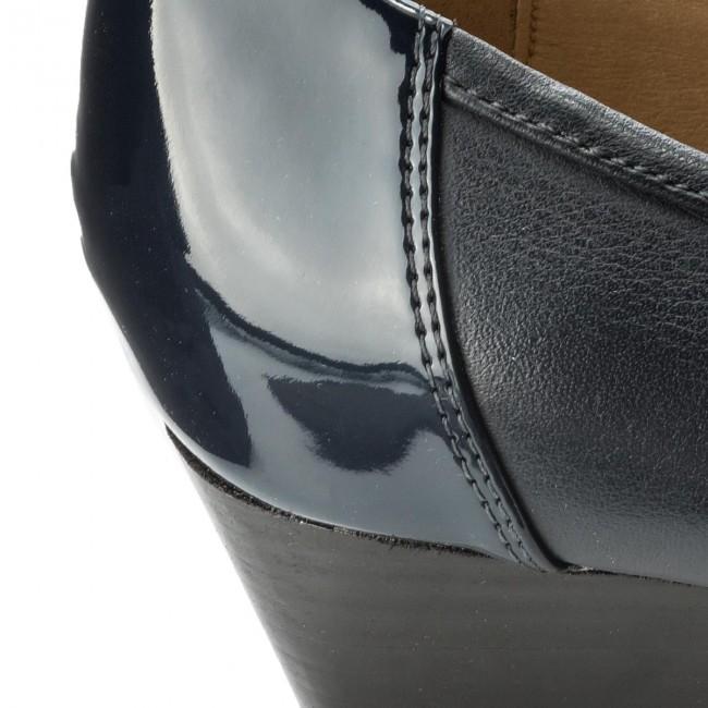 Shoes GEOX - - - D Floralie C D82T4C 08502 C4002 Navy - Wedge-heeled shoes - Low shoes - Women's shoes 172e8c