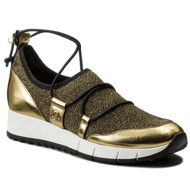 Shoes LIU JO - Running 00529 Slip-On B18007 T2028 Gold 00529 Running  - Wedge-heeled shoes - Low shoes - Women's shoes 26947d
