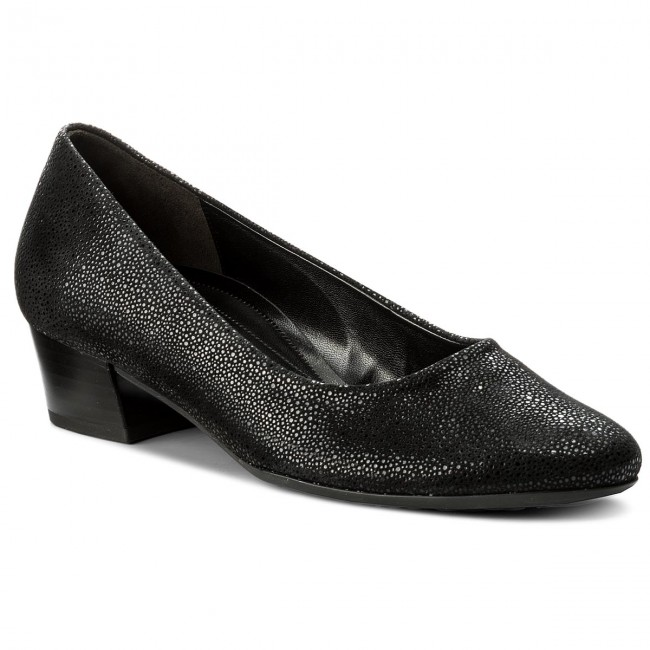 Shoes GABOR shoes - 72.200.27 Schwarz - Heels - Low shoes GABOR - Women's shoes 500830