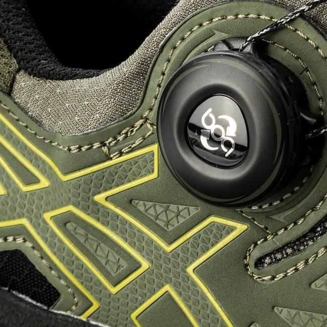 Shoes ASICS - Gel-FujiRado T7F2N Four Leaf Leaf Leaf Clover/Sulphur Spring/Black 8189 - Outdoor - Running shoes - Sports shoes - Men's shoes ea1826