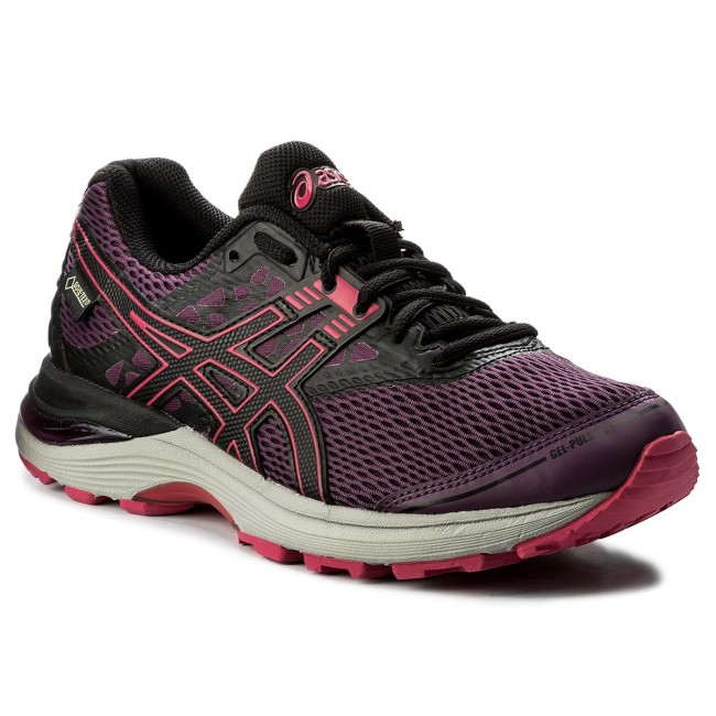 Shoes ASICS - Gel-Pulse 9 G-Tx 3390 GORE-TEX T7D9N Prune/Black/Cosmo Pink 3390 G-Tx - Outdoor - Running shoes - Sports shoes - Women's shoes 2609ae