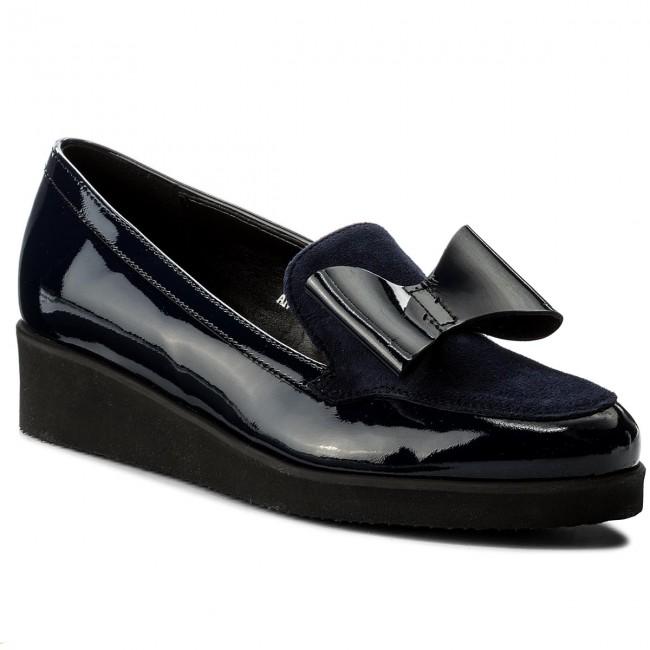Tendance: lakier chaussures sagan - 3023 heeled granatowy granatowy welur - wedge heeled 3023 Chaussure s - bas chaussures chaussures - femmes 93bdfb