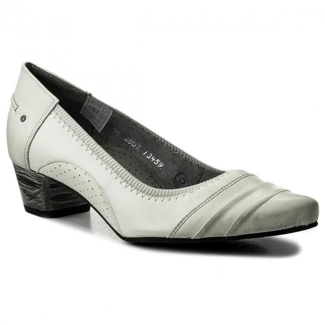 Shoes MACIEJKA Heels - 02807-11/00-5 Biały - Heels MACIEJKA - Low shoes - Women's shoes 083fe7