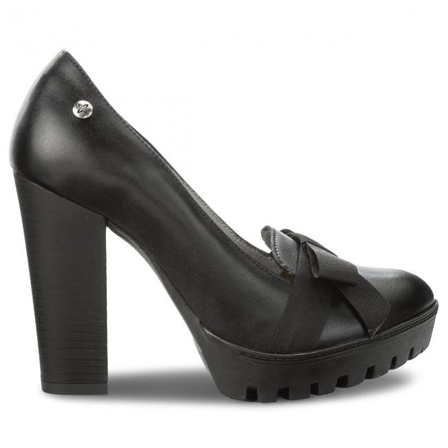 chaussures maciejka - 03368-20 / / / 00 - 1 czarne sfr - talons - bas chaussures chaussures - femmes 08a1f5