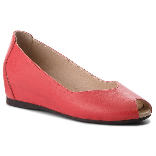 Shoes LANQIER Wedge-heeled - 42C1261 Red - Wedge-heeled LANQIER shoes - Low shoes - Women's shoes f818f9