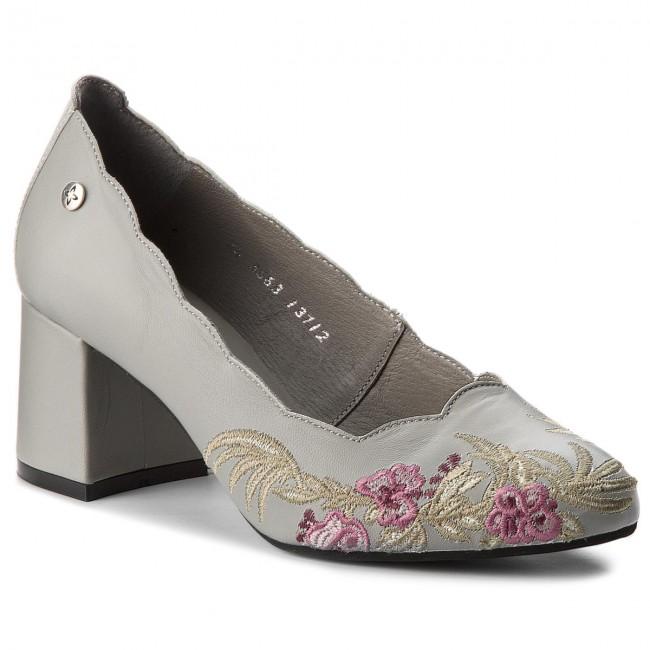 Shoes MACIEJKA - 03563-03/00-1 Popiel - - Heels - Low shoes - - Women's shoes 8d53f3