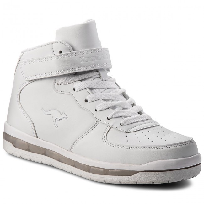 Shoes KANGAROOS - K-Lid 18121 000 0000 D White - - White Boots - High boots and others - Girl - Kids' shoes d10d62
